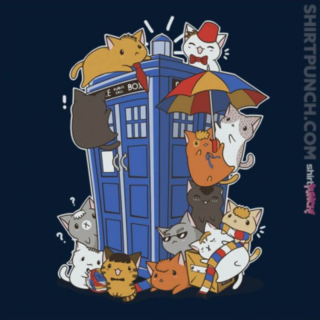 ShirtPunch: Kitten Who