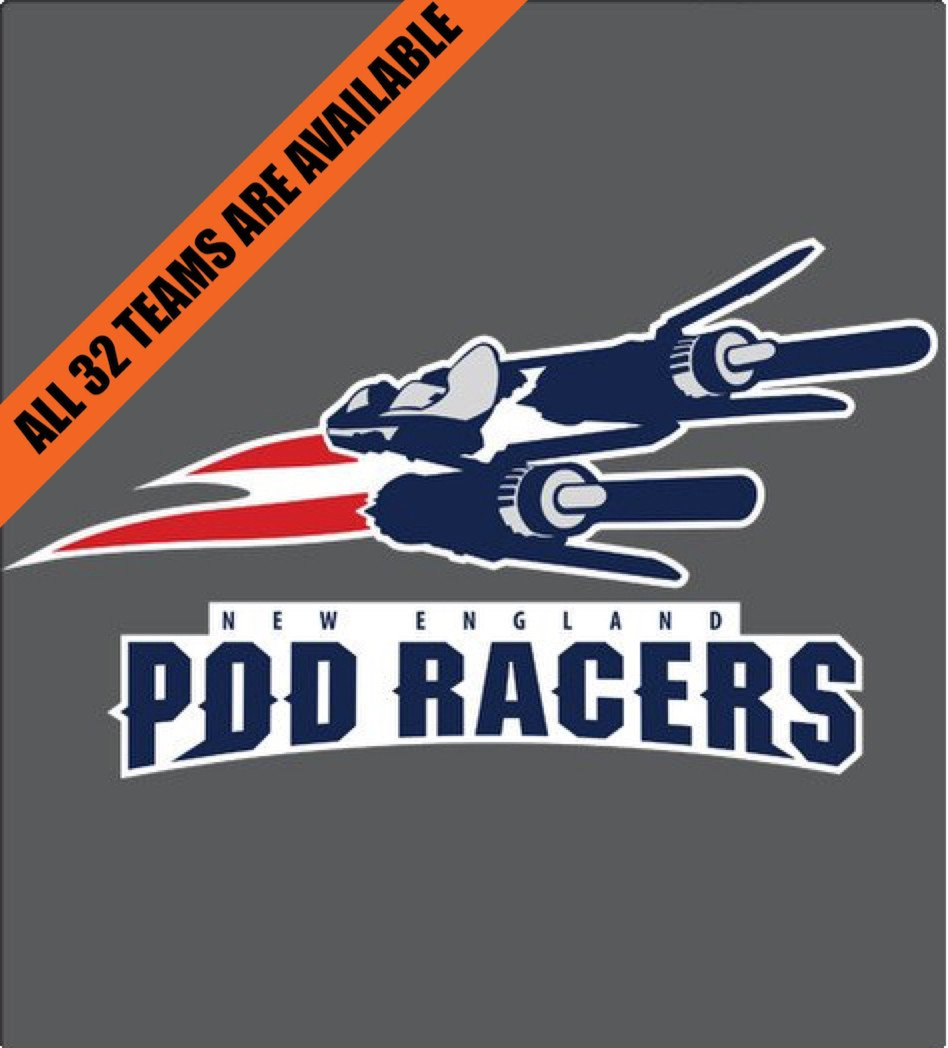 Shirt Battle: New England Pod Racers