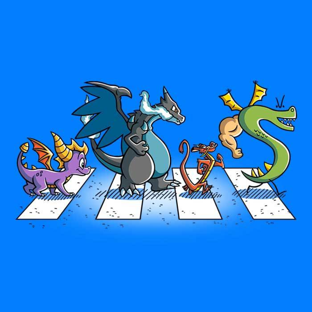 Once Upon a Tee: Dragons on Abbey Road