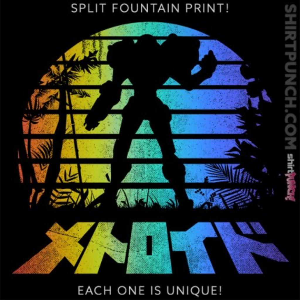ShirtPunch: Metroid Sunset