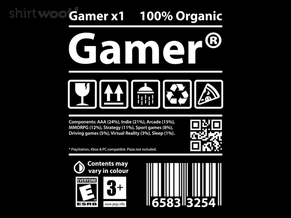 Woot!: Gamer Label