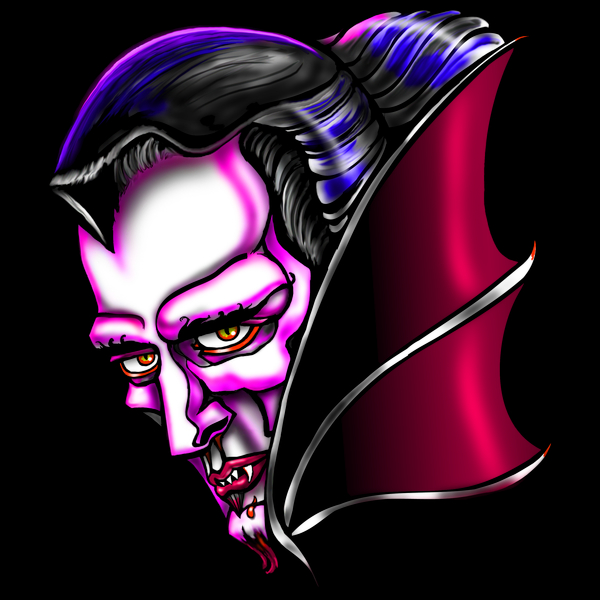 NeatoShop: Count Dracula Vampire Halloween Portrait