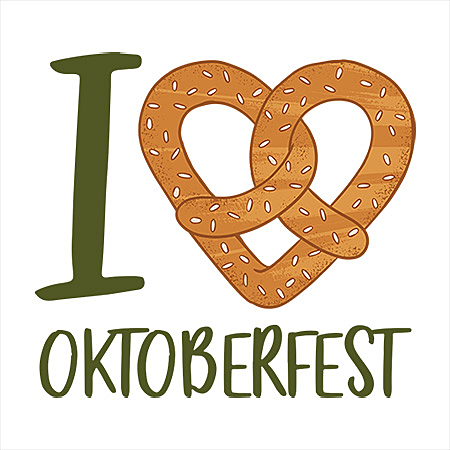 MeWicked: I Love Oktoberfest - Pretzel Heart & Beer