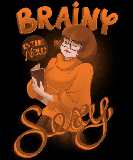Qwertee: Brainy is the new Sexy