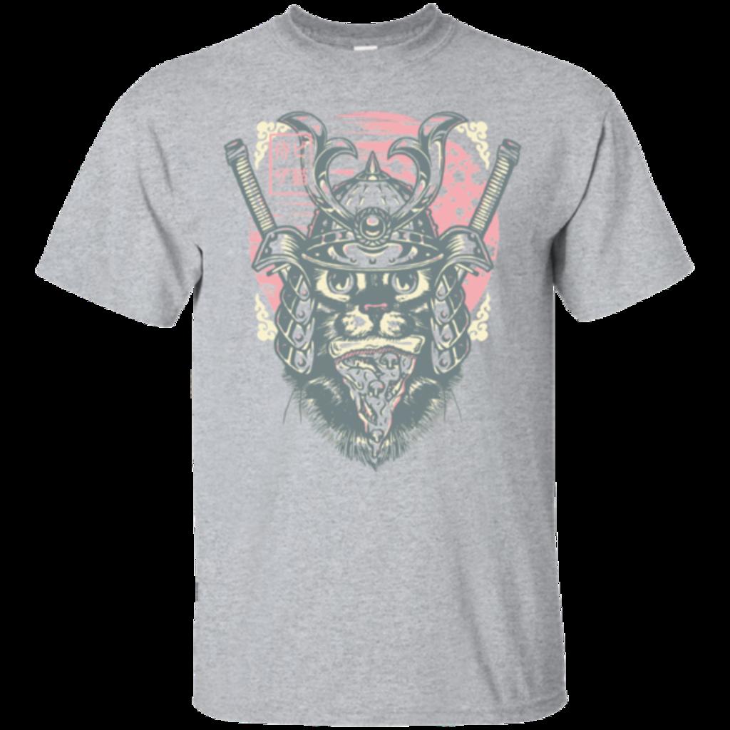 Pop-Up Tee: Samurai Pizza Cat
