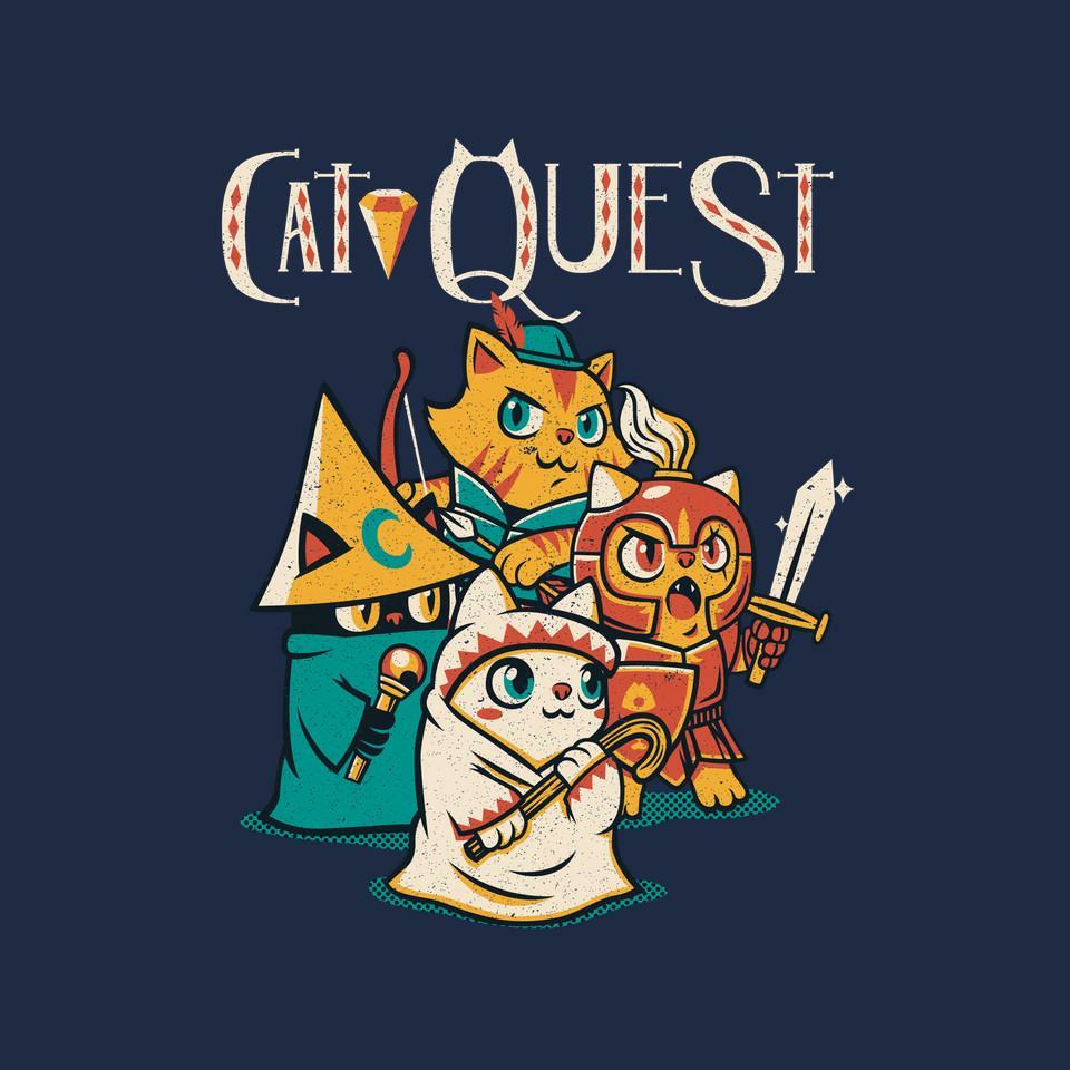 TeeFury: Cat Quest