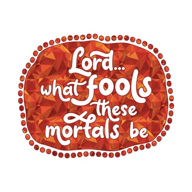 TeePublic: What Fools (Red)