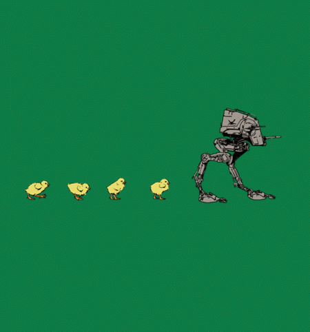 BustedTees: Chicken Xing