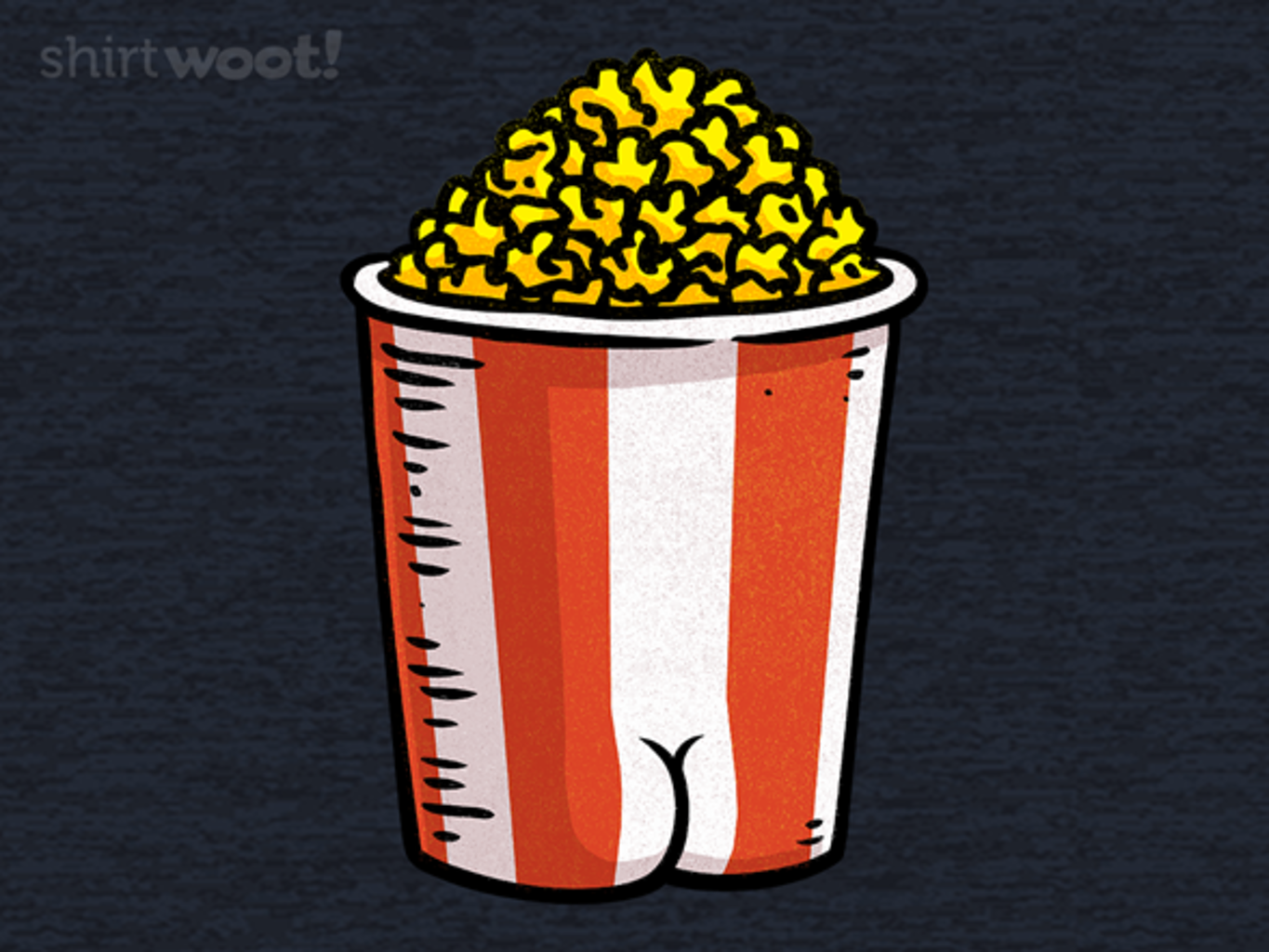 Woot!: BUTTery Popcorn