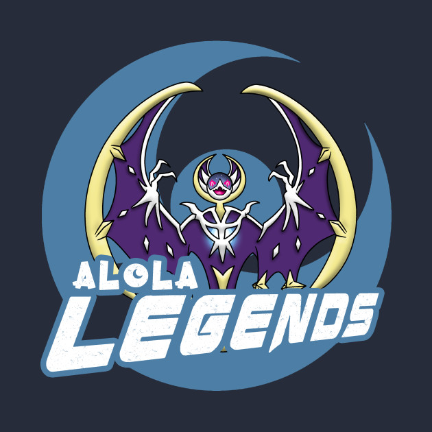 TeePublic: Alola Legends Pokémon Moon T-Shirt