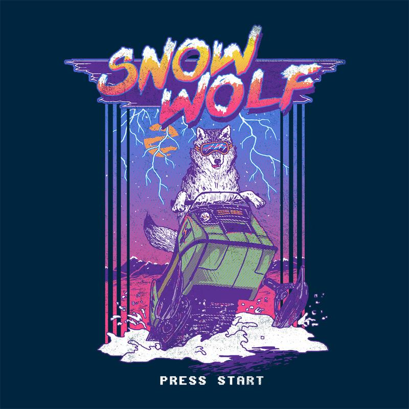 Curious Rebel: Snow Wolf
