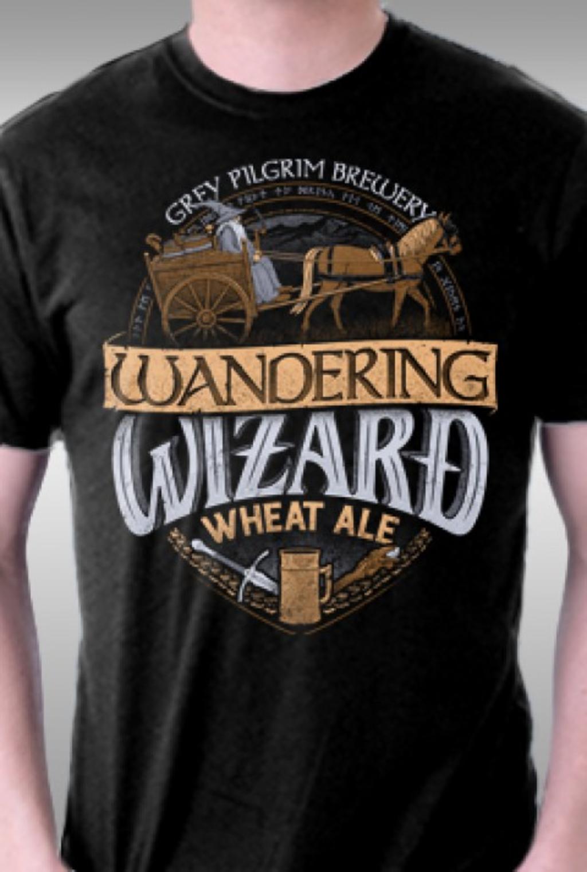 TeeFury: Wandering Wizard Wheat Ale