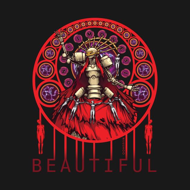 TeePublic: Nier - Simone (Beautiful)