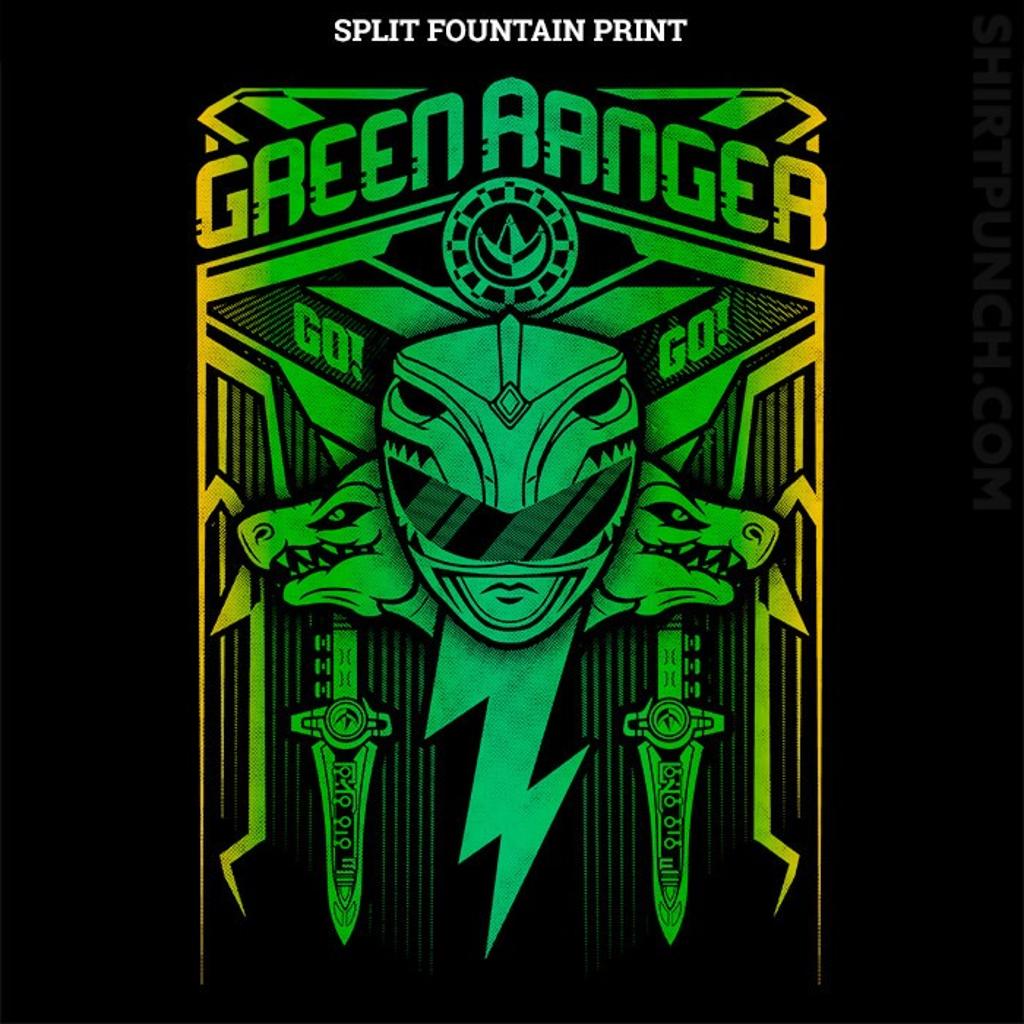 ShirtPunch: Green Ranger Crest
