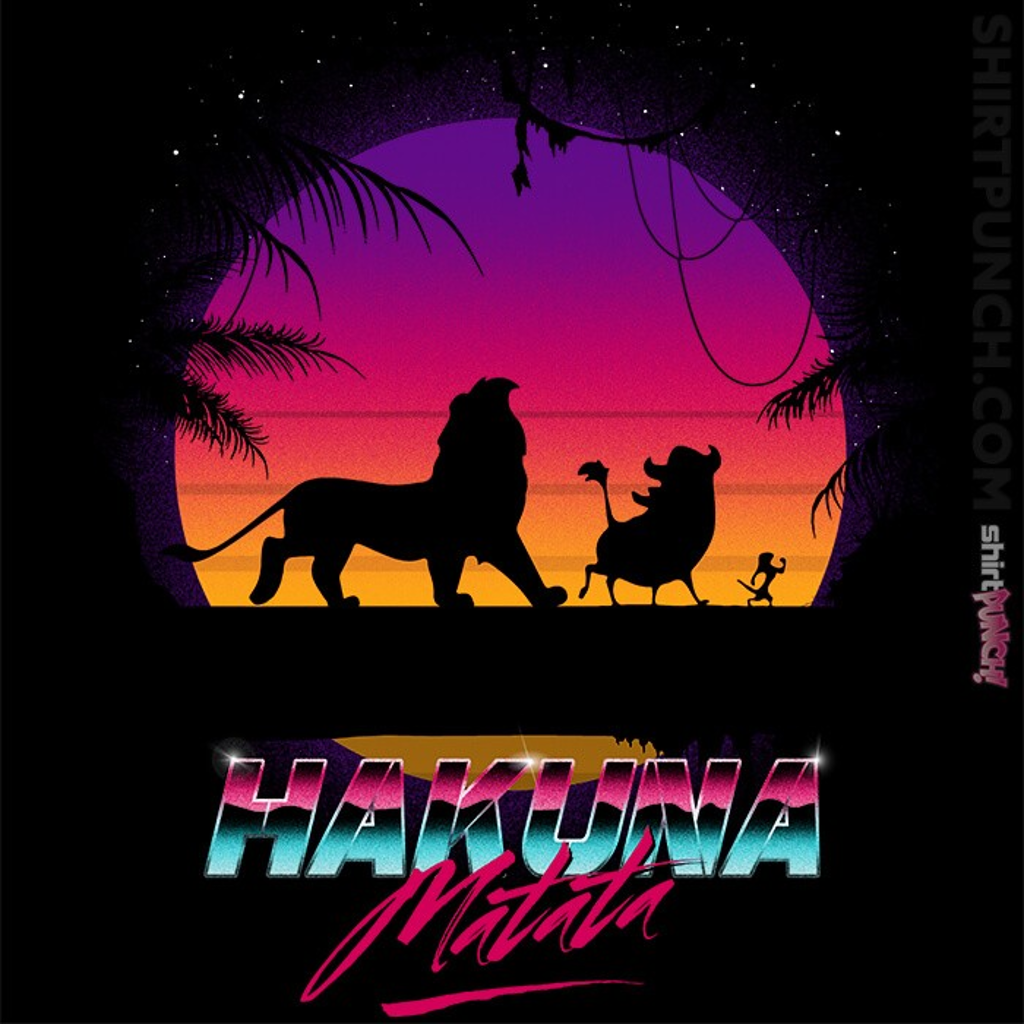 ShirtPunch: Retro Matata