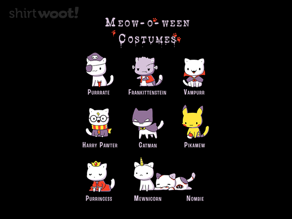 Woot!: Meow-o-ween Costumes