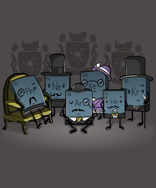 Qwertee: Noble Gases