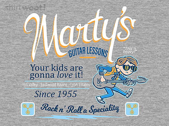 Woot!: Marty's Guitar Lessons