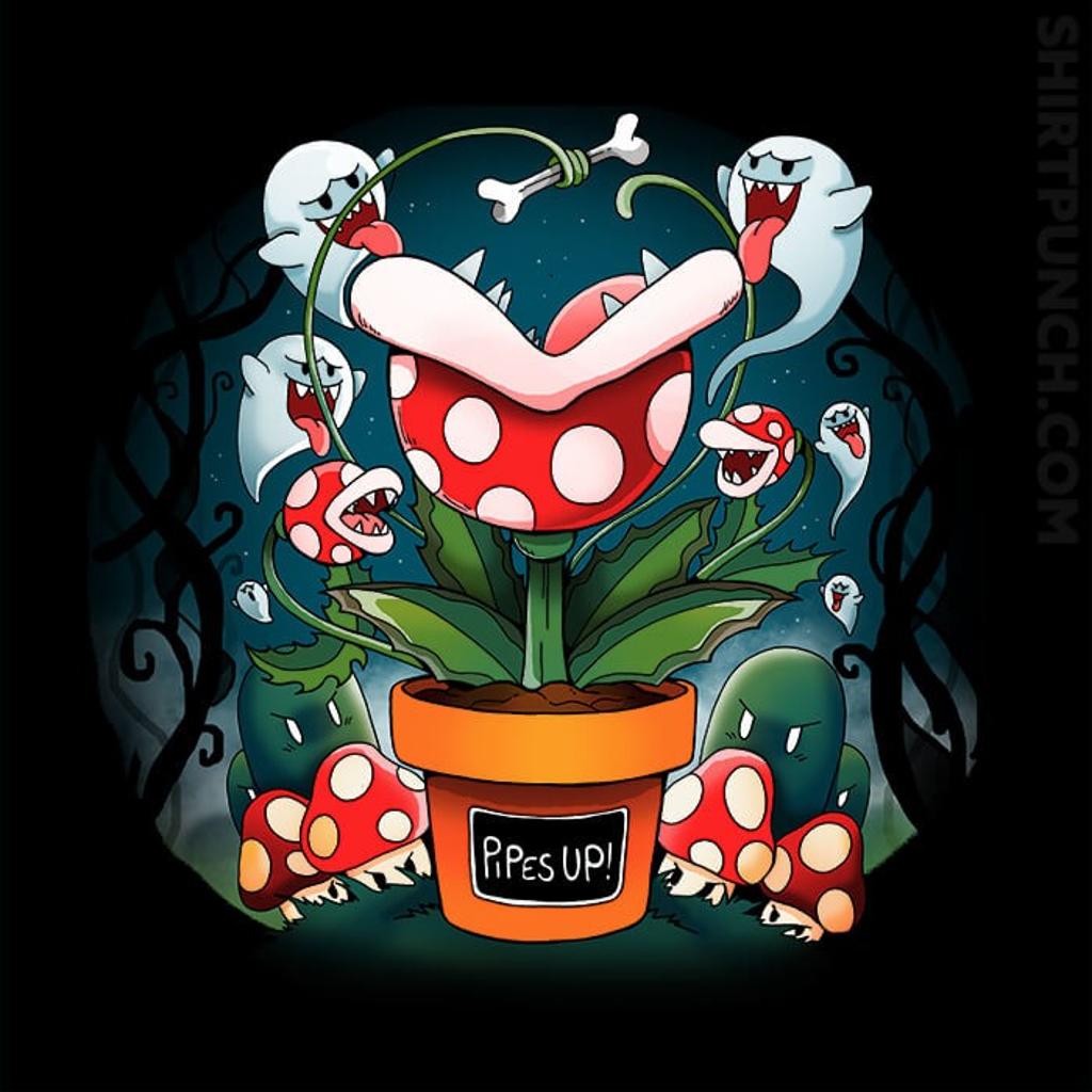 ShirtPunch: Creepy Succulents