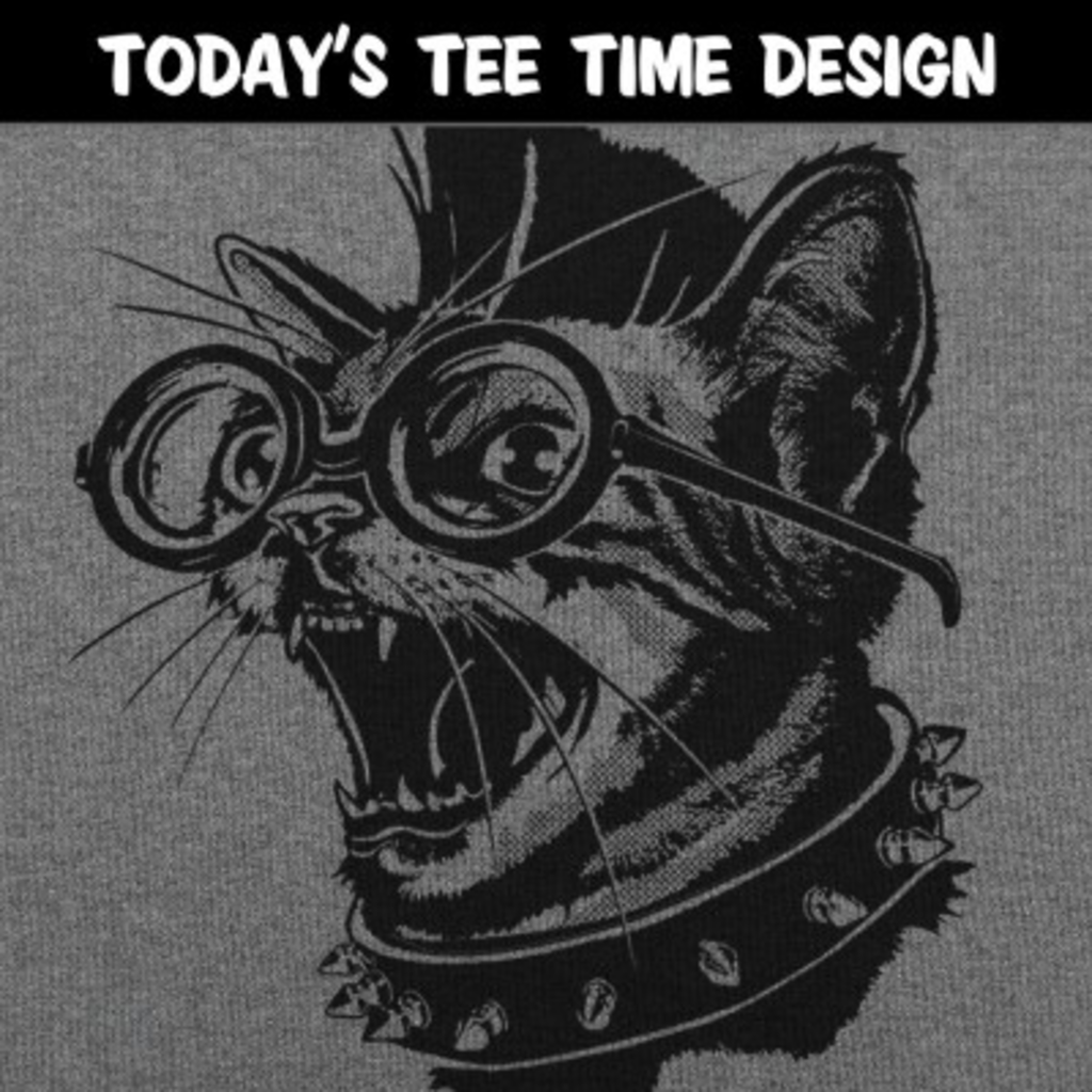 6 Dollar Shirts: Punk Cat