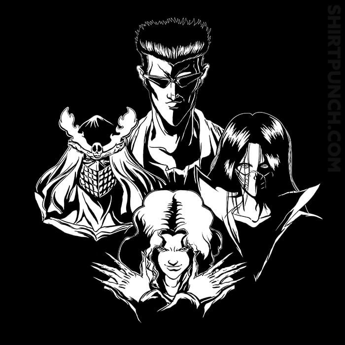 ShirtPunch: March Of Toguro