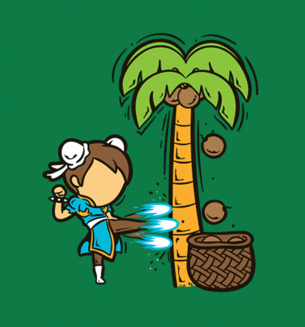 BustedTees: Part Time Job - Coconut Farm