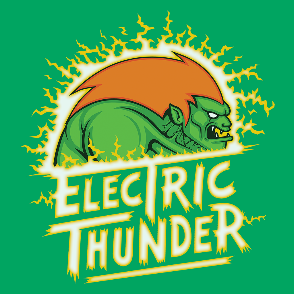 Pop-Up Tee: Electric Thunder