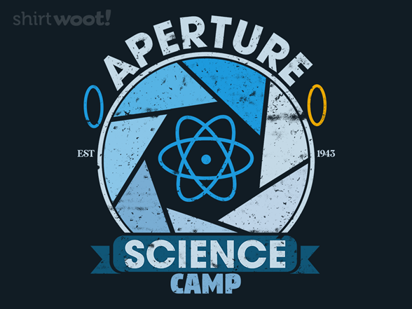 Woot!: Aperture Science Camp
