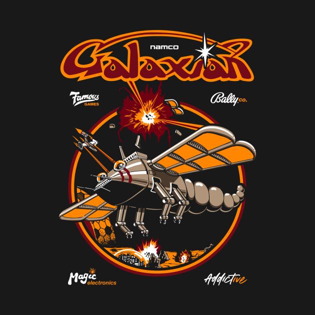 TeePublic: Galaxian Retro Arcade Vintage Gaming