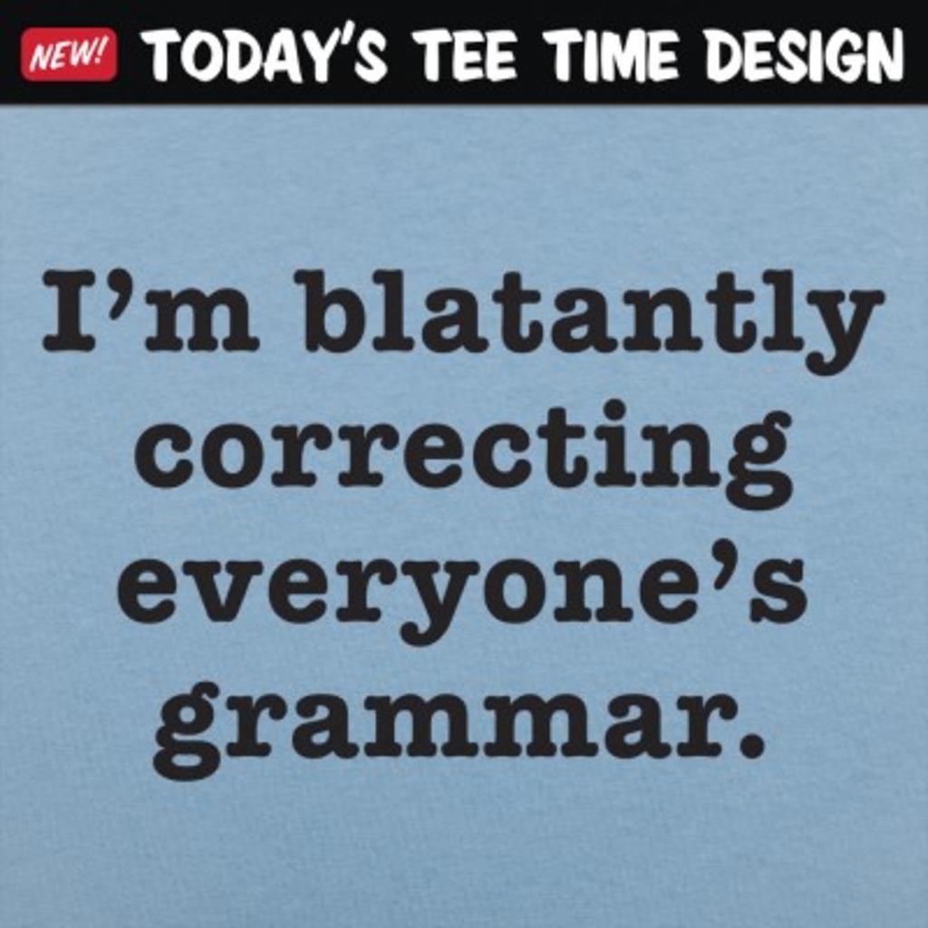 6 Dollar Shirts: Correcting Grammar