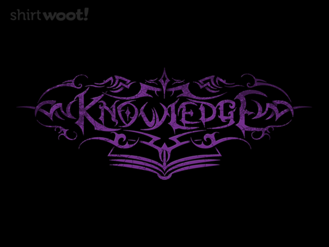 Woot!: Tribal Knowledge - $15.00 + Free shipping