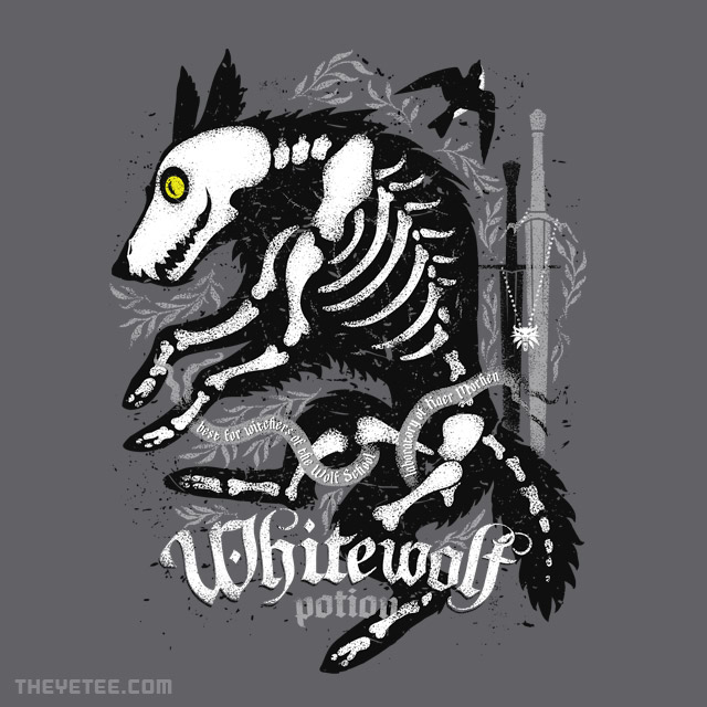 The Yetee: White Wolf Potion