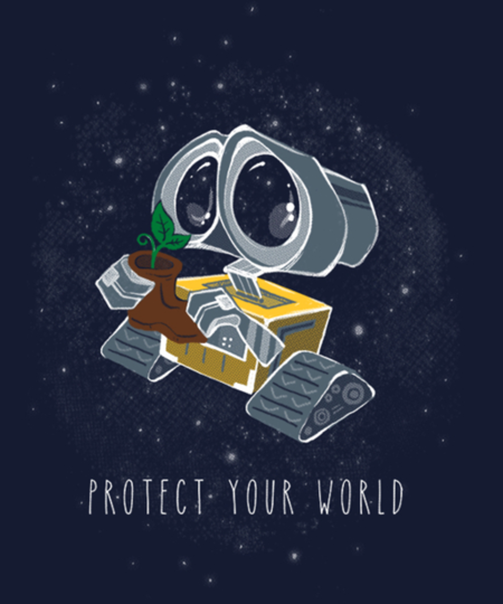 Qwertee: Protect your world