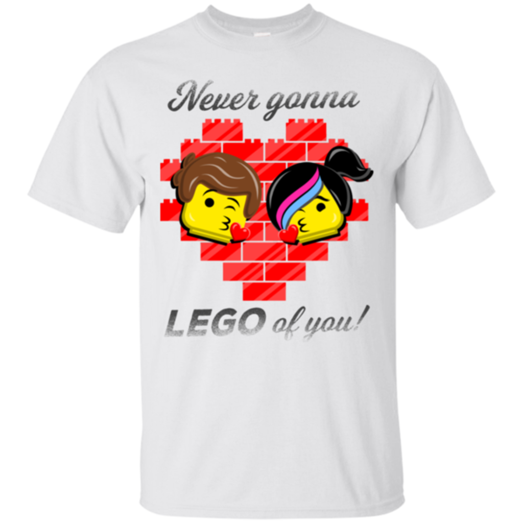 Pop-Up Tee: Never LEGO of You