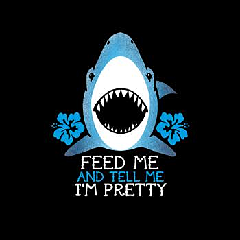 BustedTees: Feed The Shark