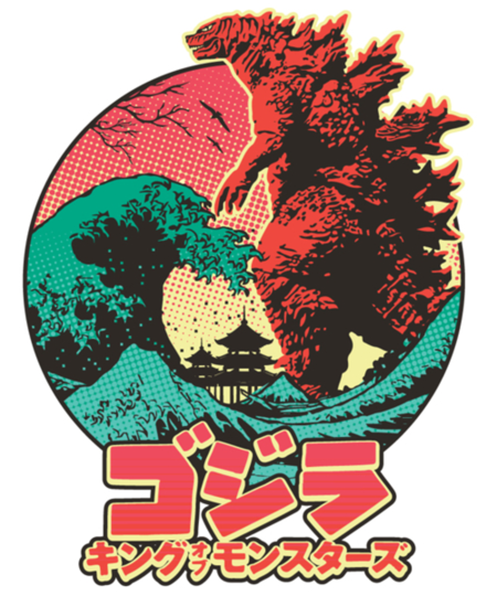 Qwertee: KAIJU MONSTER
