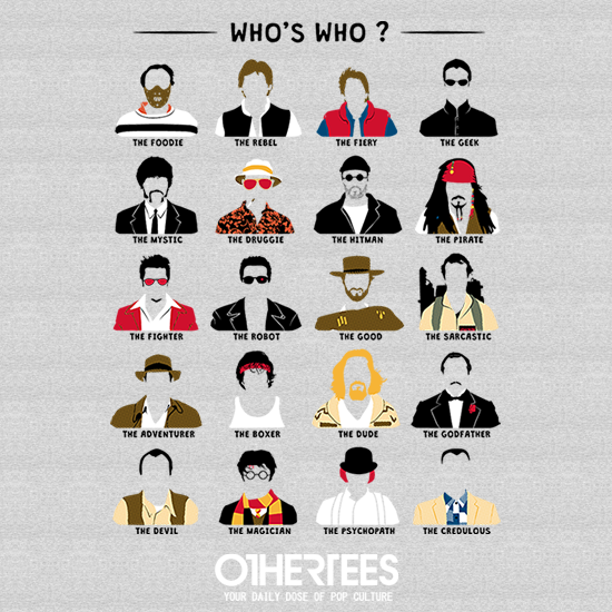 OtherTees: Who's who? Men