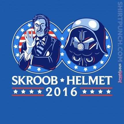 ShirtPunch: Skroob Helmet