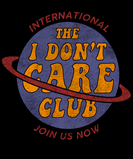 Qwertee: I don't care group