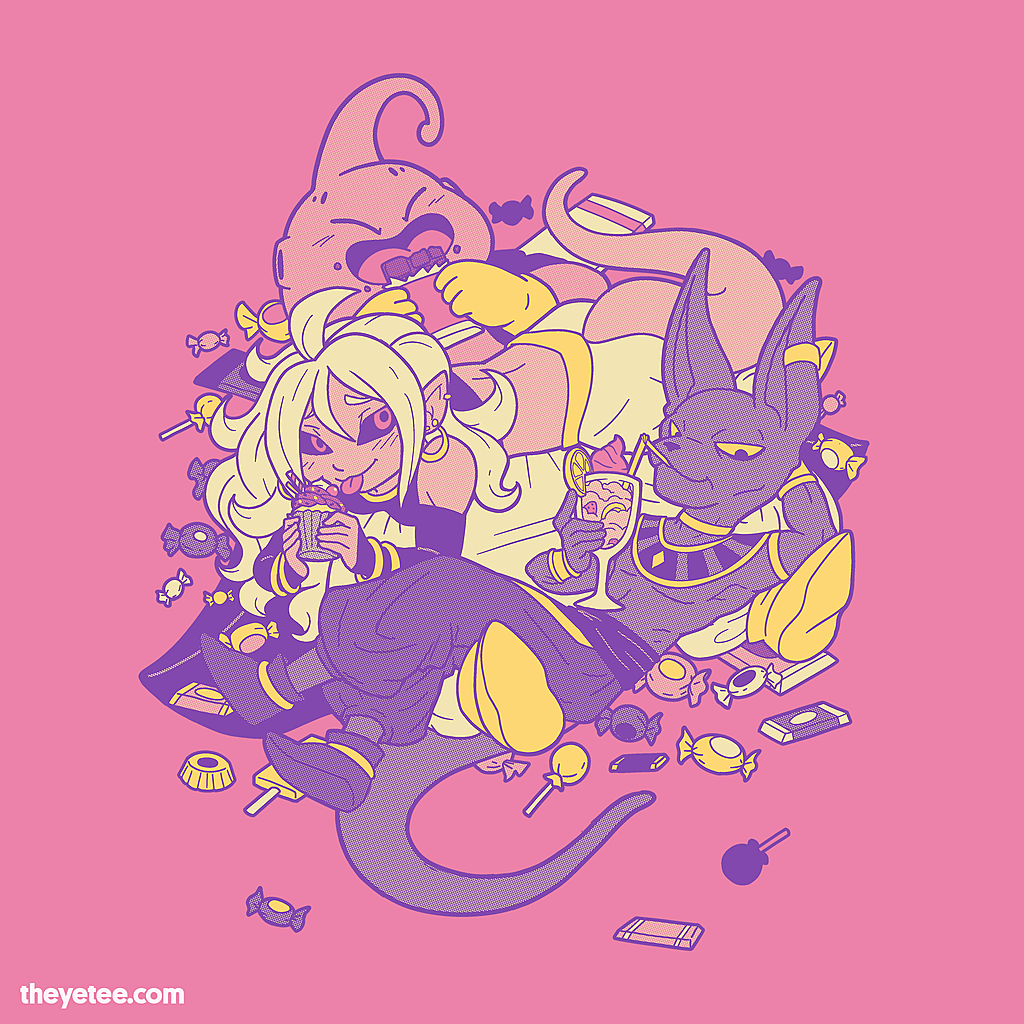 The Yetee: Eat you up