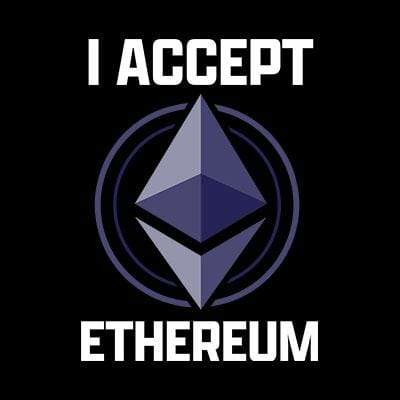 BustedTees: I Accept Ethereum