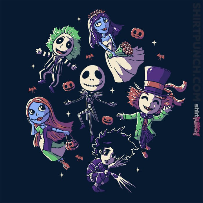 ShirtPunch: Burton's Halloween