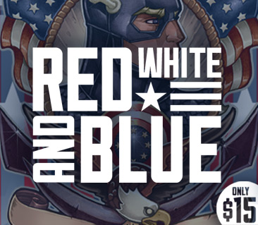 TeeFury: Red White & Blue Collection