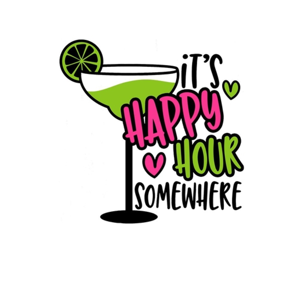 BustedTees: It's Happy Hour Somewhere