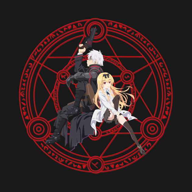 TeePublic: Arifureta From Commonplace to World's Strongest - Hajime & Yue Magic Logo