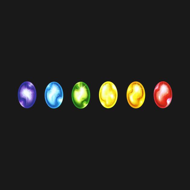 TeePublic: Avengers Infinity Stones