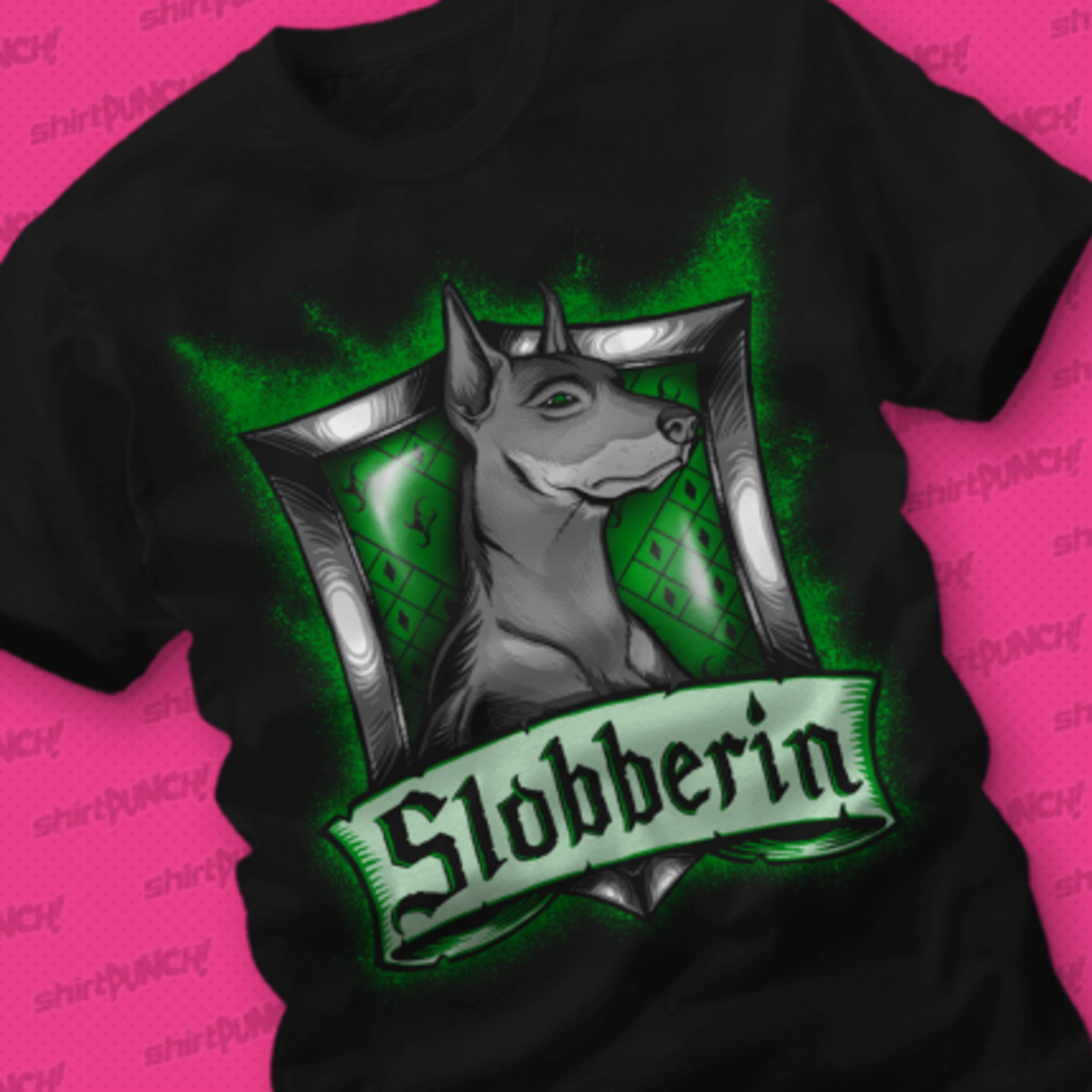 ShirtPunch: Hairy Pupper House Slobberin