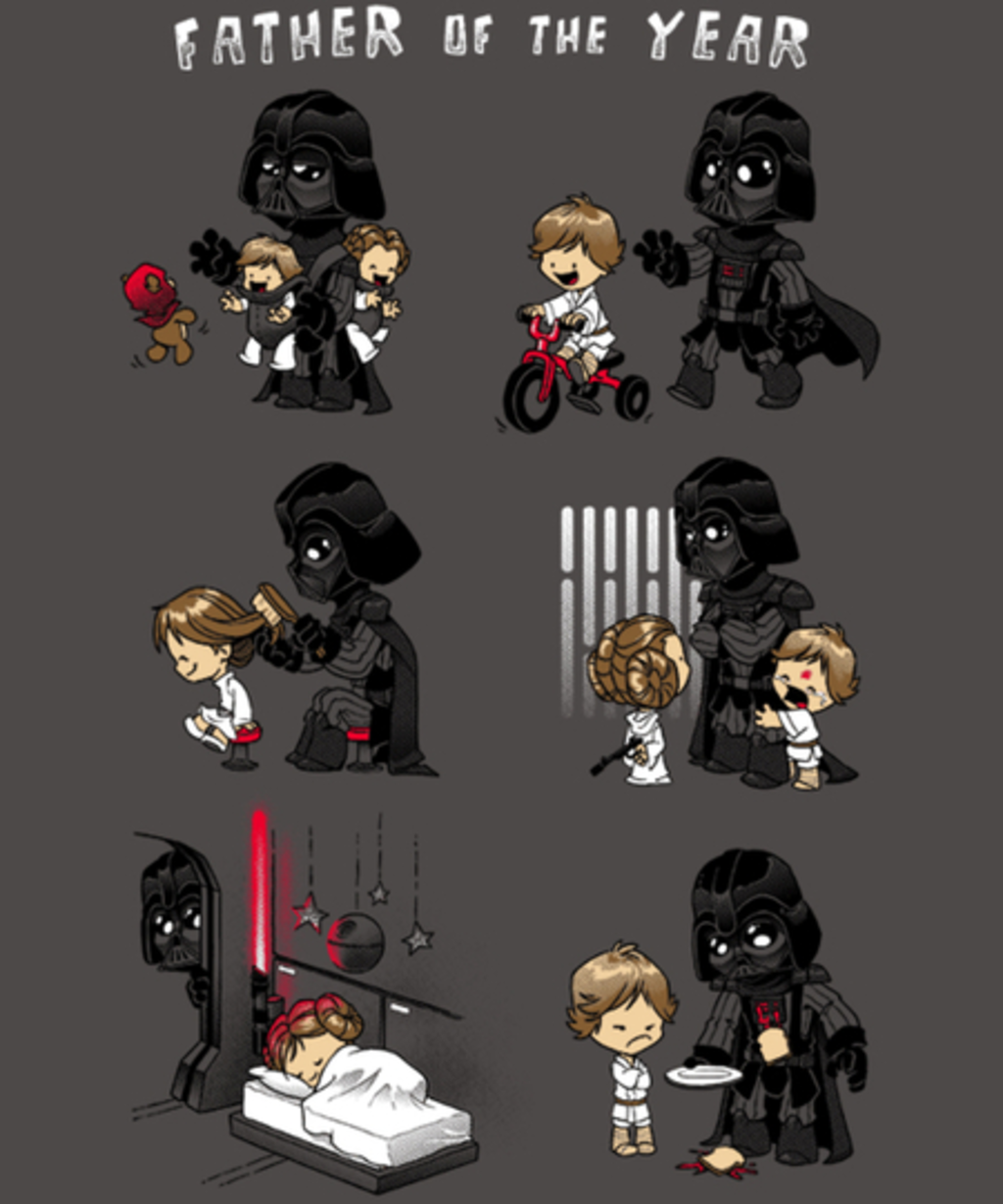 Qwertee: Father of the Year