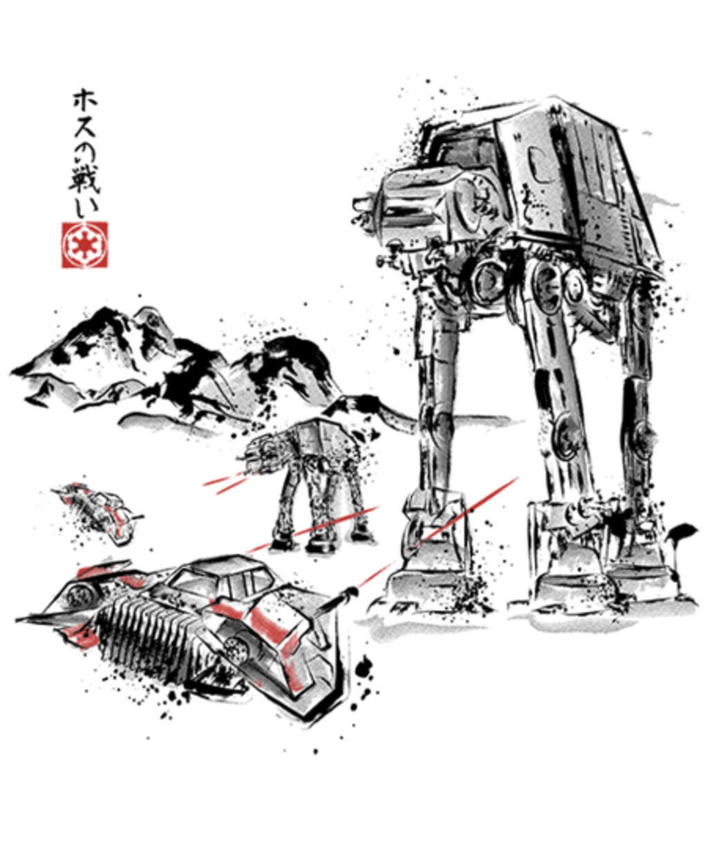 Qwertee: Battle in the Snow