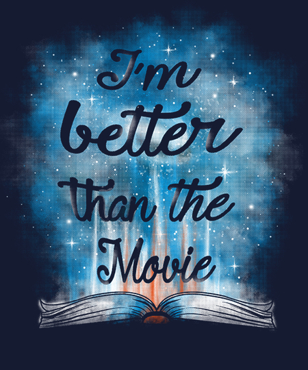Qwertee: I'm better than the movie!